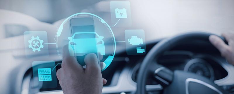 smart car graphic