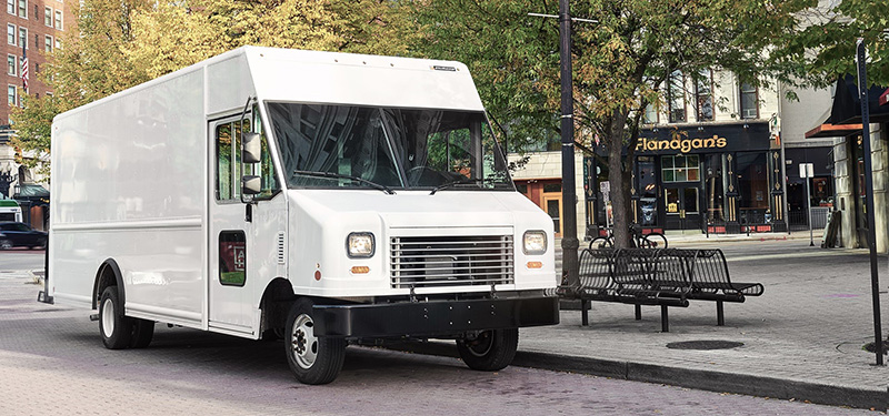 Utilimaster delivery truck
