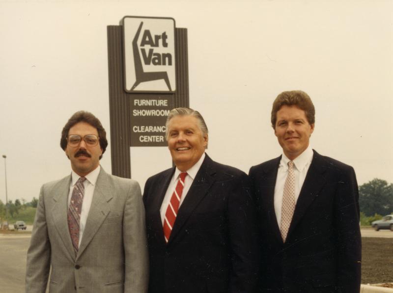 Mike Billiet, Art Van Elslander, Gary Elslander