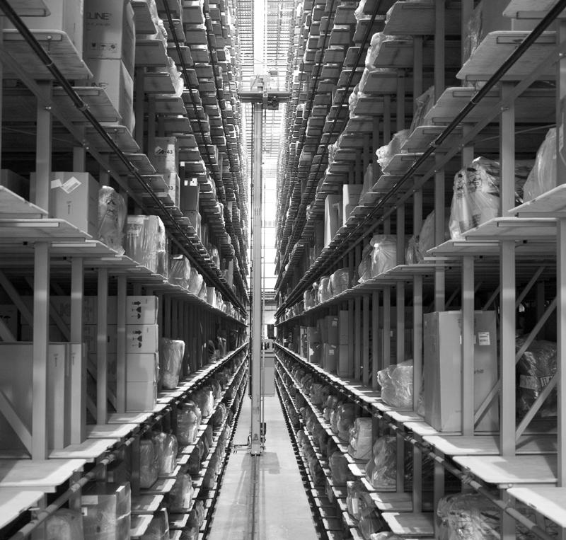 Art Van Furniture's automated warehouse