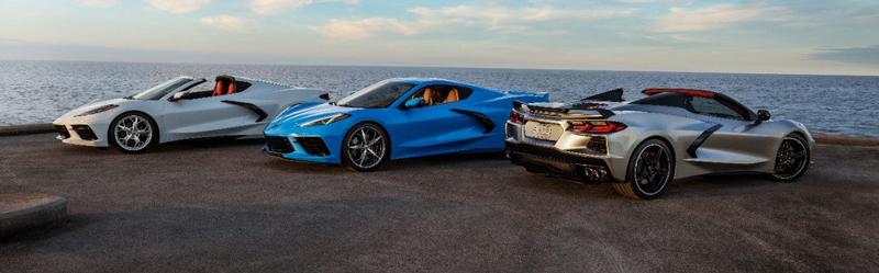2021 Corvette models