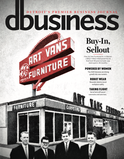 DBusiness July/August 2020 cover