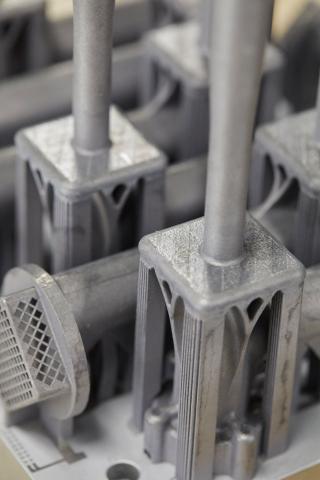 Eaton 3-D-printed latticed aluminum aerospace parts