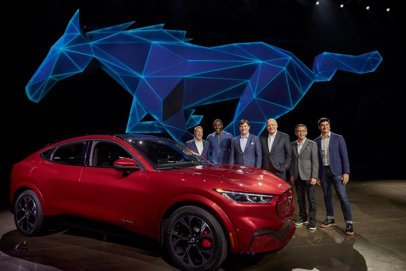 Mustang Mach-E Reveal