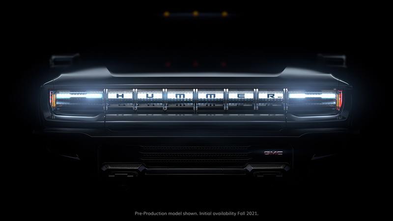 GMC Hummer EV grille
