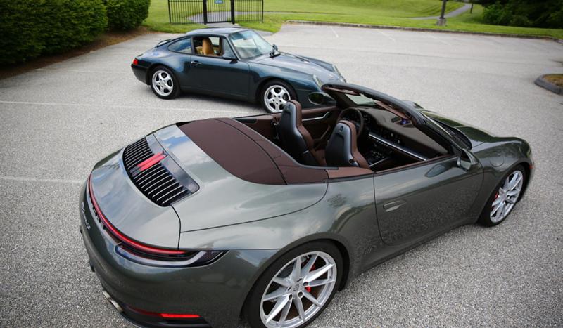 Porsche vehicles