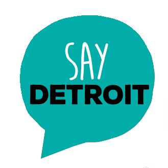 Say Detroit logo