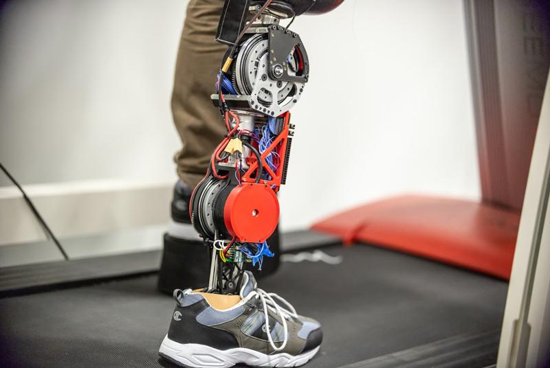 robotic prosthetic leg using Space Station technology