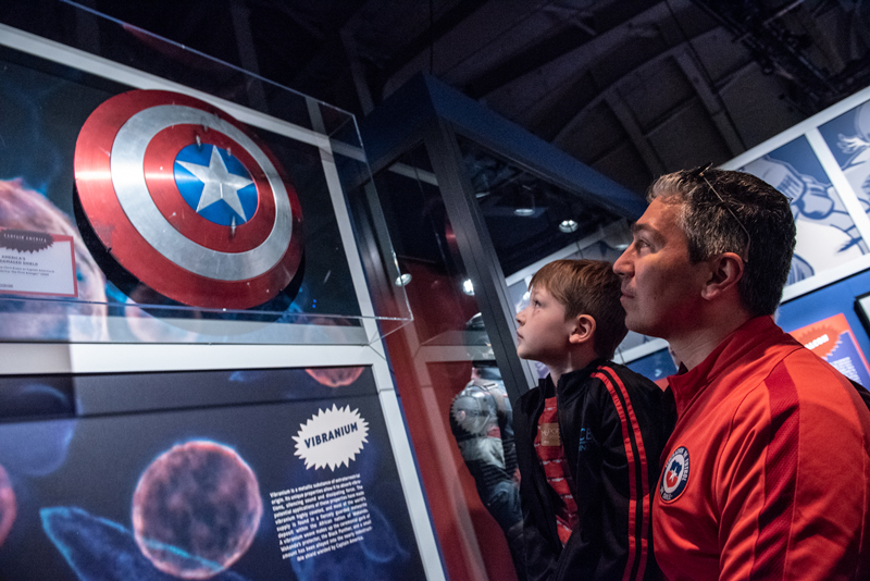 """""""Marvel: Universe of Super Heroes"""" exhibition"""