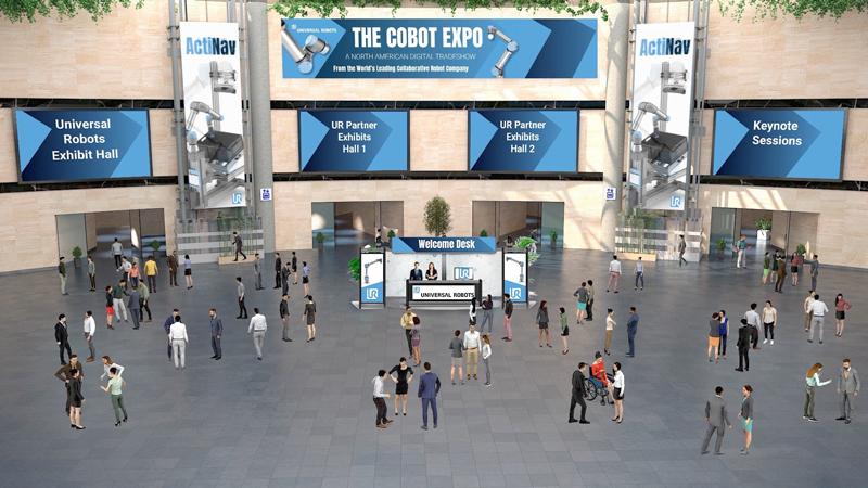 Universal Robots Cobot Expo