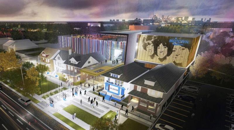Motown Museum rendering