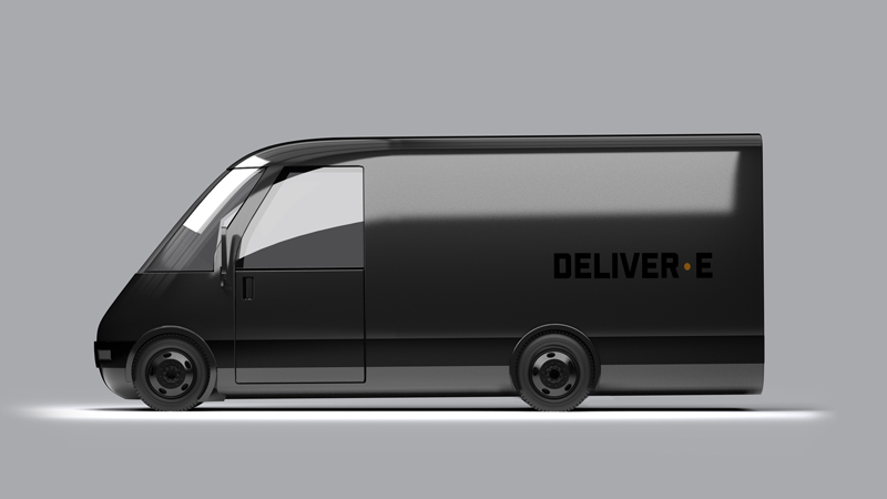 Bollinger Motors' DELIVER-E all-electric delivery van