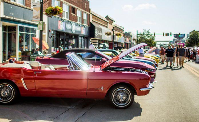 Mustang Alley in Ferndale