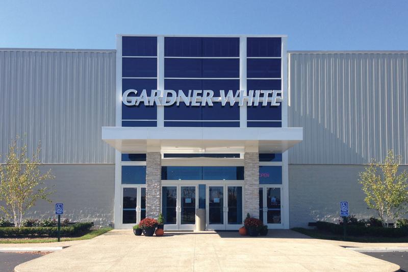 Gardner-White's new location