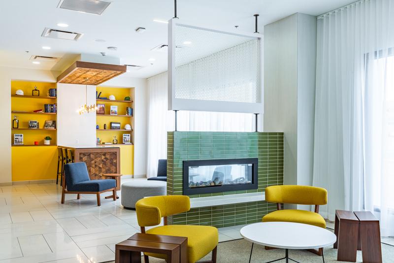 Indigo Hotel interior