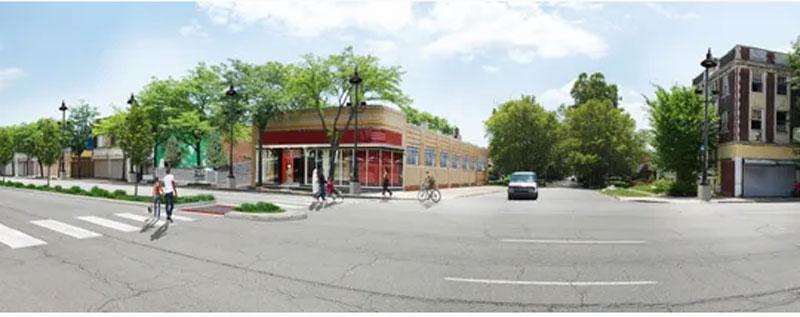 Jefferson East Development rendering