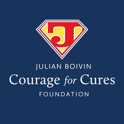 Julian Boivin Courage for Cures Foundation logo