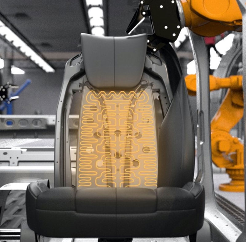New thermal seat system