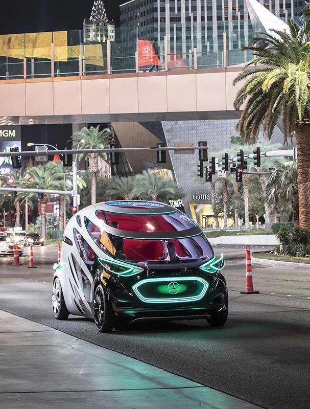 Mercedes-Benz autonomous vehicle concept