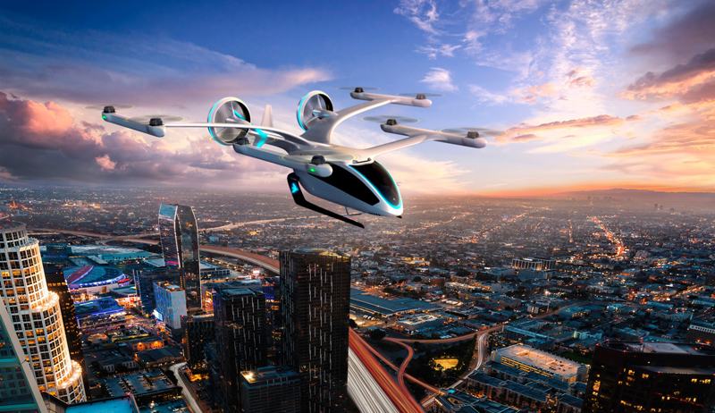 Uber Elevate air taxi