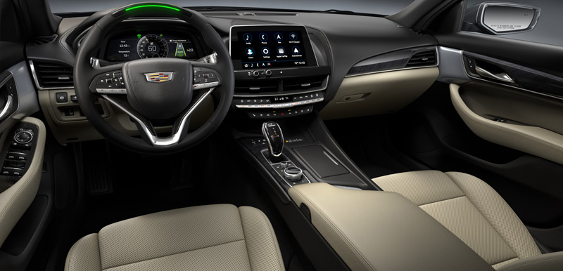Cadillac CT4/CT5 interior