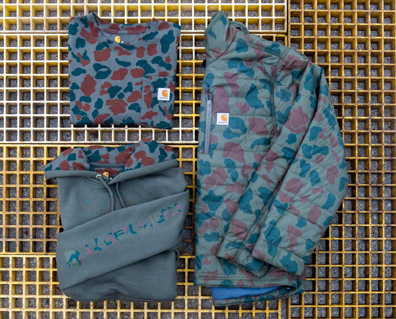 Carhartt Heritage Camo collection