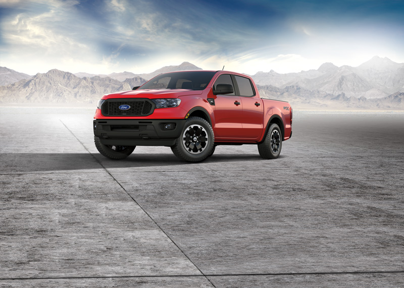 STX Special Edition Package on 2021 Ford Ranger XL