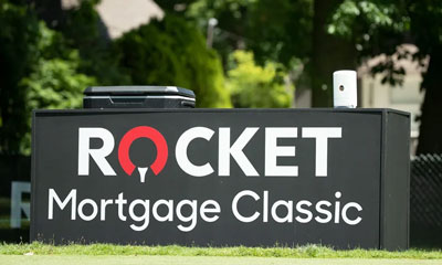 Rocket Mortgage Classic sign