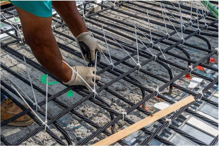 carbon fiber reinforced polymer strands in bridge