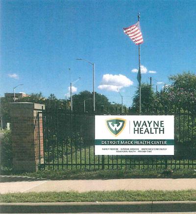 Wayne Health sign