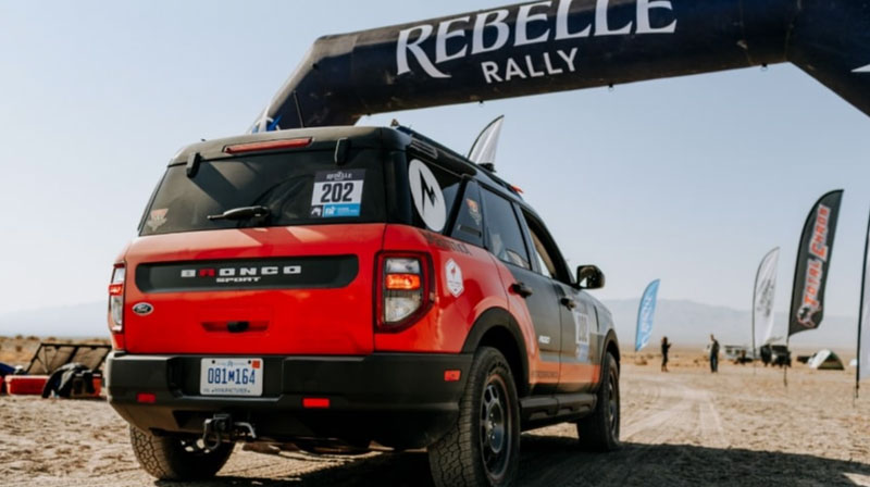Ford Bronco Sport at Rebelle Rally