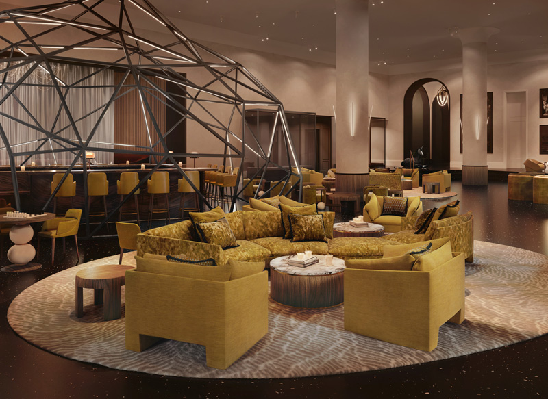 Daxton Hotel lobby