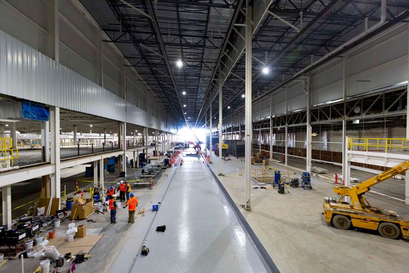 Factory ZERO interior