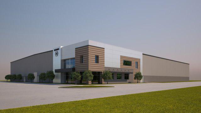 Natrabis marijuana cultivation facility rendering
