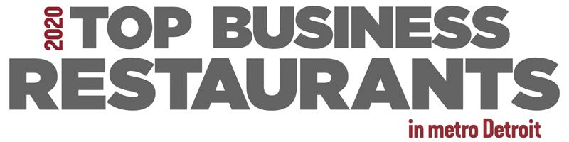 2020 Top Business Restaurants