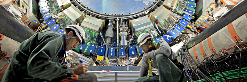 ATLAS detector of the Large Hadron Collider
