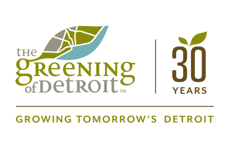 The Greening of Detroit logo