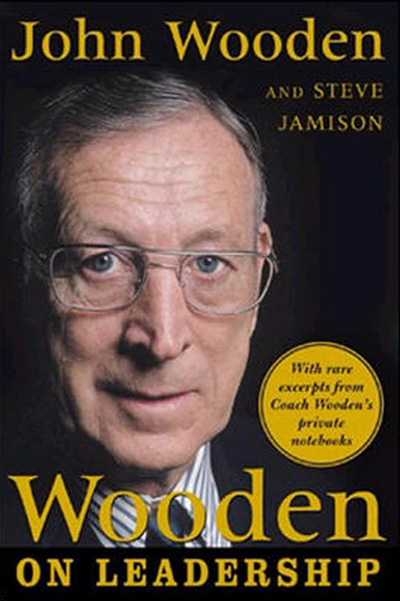 Wooden on Leadership cover