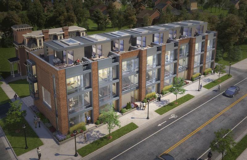 Brush 8 condominium development