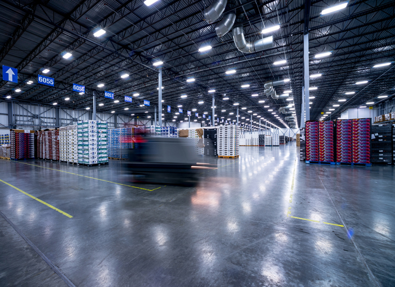 Lineage Logistics warehouse