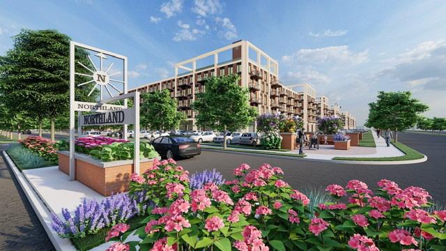 Northland Center redevelopment rendering