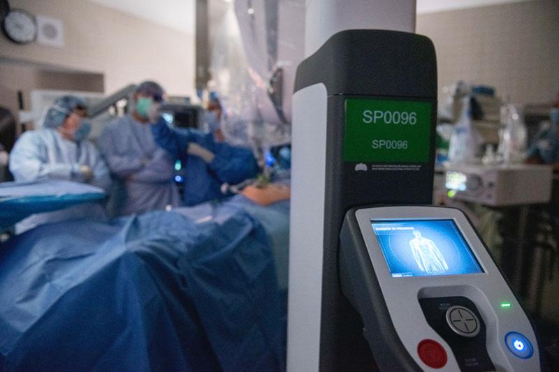 da Vinci SP robotic surgery system