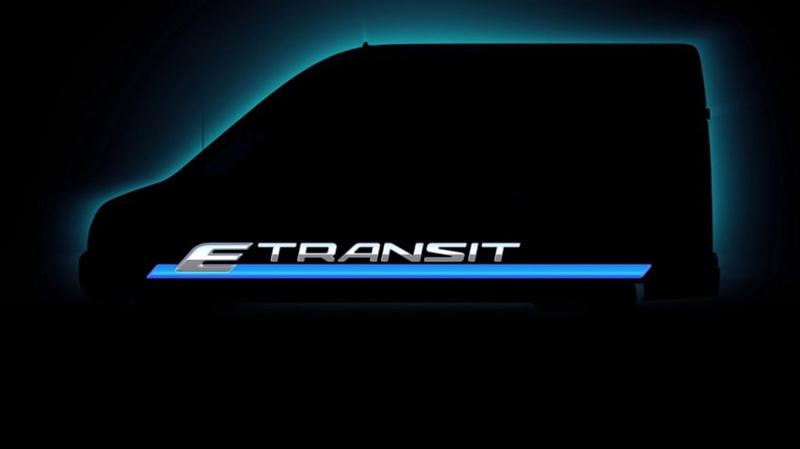 Ford E-Transit van teaser image