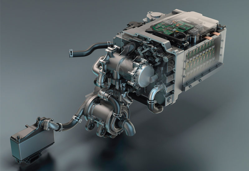 GM Hydrotec fuel cell system