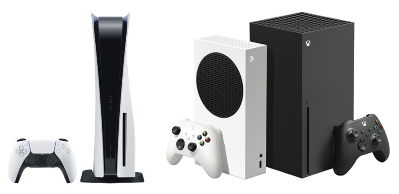 Xbox Series X, PlayStation 5