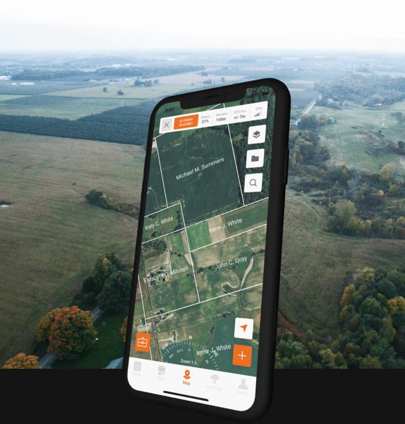 HuntCast 2.0 app