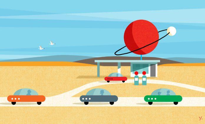 hydrogen economy illustration