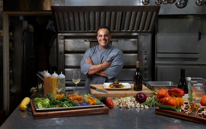 Bobby Nahra in kitchen