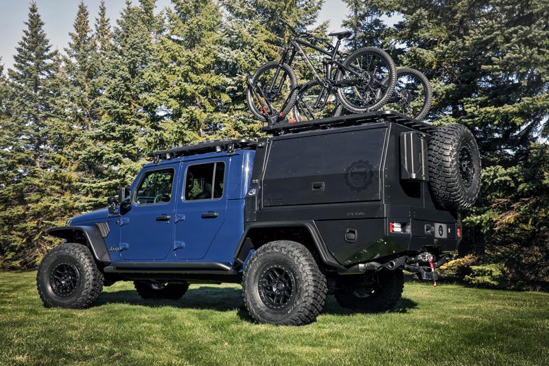 Jeep Gladiator Top Dog Concept