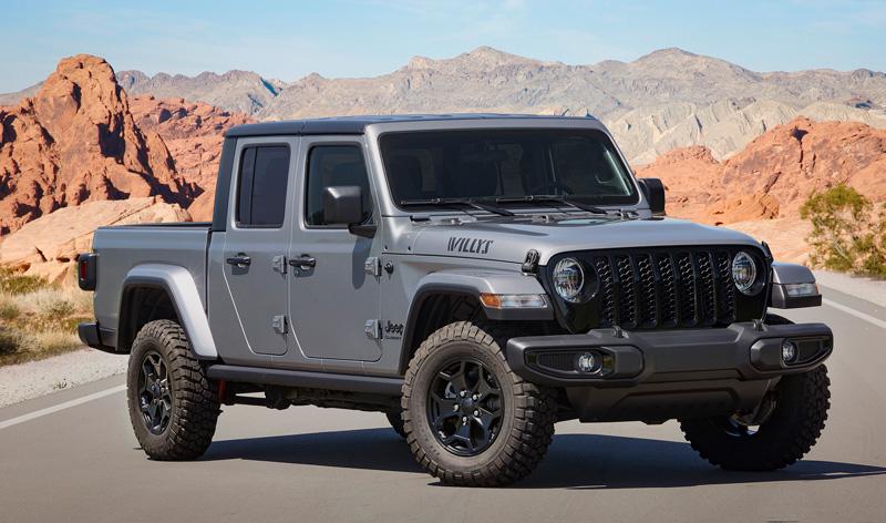 2021 Jeep Gladiator Willys model